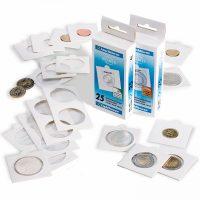 Χαρτονάκια Νομισμάτων Θήκες Lighthouse Αυτοκόλλητα 25mm Νο 4