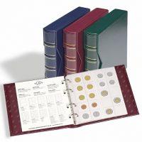 Album Νομισμάτων Numis Με Κάλυμμα Και 5 Διαφορετικές Σελίδες (Κόκκινο)