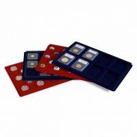 Trays L Για 35 Νομίσματα Μέχρι 39 mm Μπλε