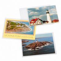 Διάφανα Προστατευτικά Φύλλα Για Γραμματόσημα FDC Και Καρτ Ποστάλ 187X125 mm