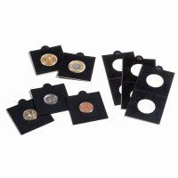 Χαρτονάκια Νομισμάτων Lighthouse Αυτοκόλλητα Μαύρα 22,5mm Νο 3
