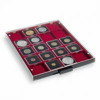 Συρτάρι Νομισμάτων 20 Θέσεων Για Μέχρι 50mm Κόκκινο