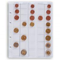 Διάφανες σελίδες νομισμάτων OPTIMA μεχρι 42mm