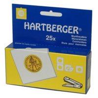 HARTBERGER ΧΑΡΤΟΝΑΚΙΑ ΣΥΡΡΑΠΤΙΚΟΥ 67x67mm XL 43MM για Μετάλλια