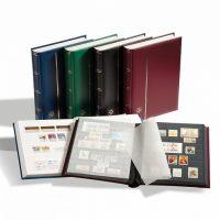 Αλμπουμ γραμματοσήμων Lighthouse 64 σελίδων - Comfort (μαύρο)