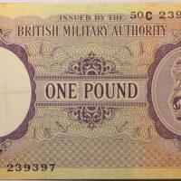 1 Pound British Military Authority 1944
