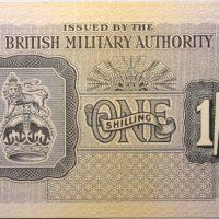 1 Shilling British Military Authority 1944