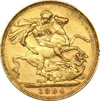 Χρυσή Λίρα 1894 Βικτωρία