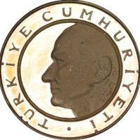 Turkey 3000 Lira 1983 60th Anniversary of the Republic