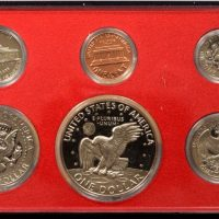 USA 1977 Proof Set in Plastic Case