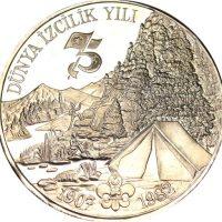 Turkey 3000 Lira 1982