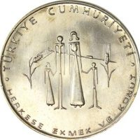 Turkey 50 Lira 1977