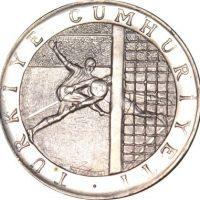 Turkey 150 Lira 1978 Football Champioship