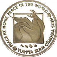 Turkey 10000 Lira 1986 World Peace