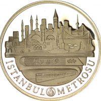 Turkey 20000 Lira 1989Istanbal Metro