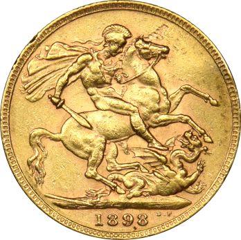 Χρυσή Λίρα 1898 Βικτωρία