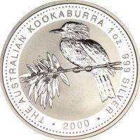 Αυστραλία Ασημένιο 1oz 2000 Kookaburrah
