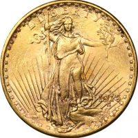 USA Χρυσό 20 Δολάρια 1915 St Gaudens