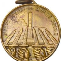 Medal Italy of the 6th Blackshirt Division 'Tiber' in East Africa
