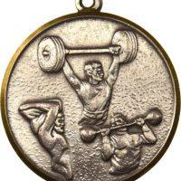Μετάλλιο Ελληνικής Ομοσπονδίας Άρσης Βαρών 1972