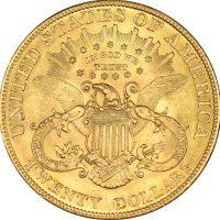 USA Χρυσό 20 Δολάρια 1904 Liberty Head - Double Eagle