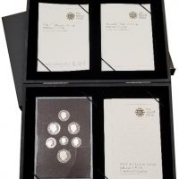 Βρετανία 2008 United Kingdom Silver Proof Coin Collection Emblems