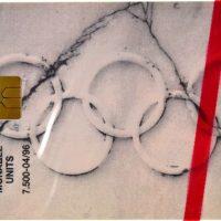 Ελλάδα Τηλεκάρτες 100 Χρόνια Ολυμπιακοί Αγώνες Ζευγάρι Κλειστές 1996