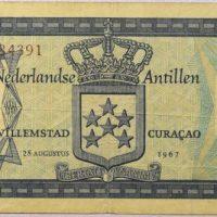 Χαρτονόμισμα Netherland Antilles 5 Gulden 1967