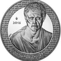 10 Ευρώ 2016 Μένανδρος Ελληνικό Ασημένιο Αναμνηστικό Νόμισμα