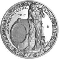 10 Ευρώ 2017 Διογένης Ελληνικό Ασημένιο Αναμνηστικό Νόμισμα
