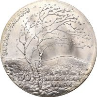 Φινλανδία Finland 50 Mark 1983 Silver