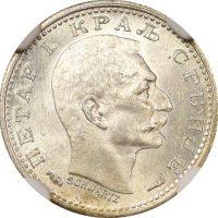 Σερβία Serbia 50 Para 1915 NGC MS 63 Coin Alignment