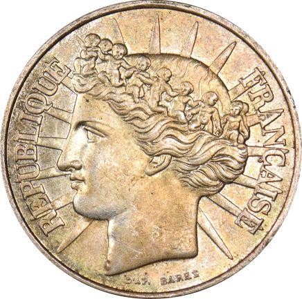 Γαλλία France 100 Francs 1988 Silver