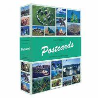 Άλμπουμ για 200 Καρτ Ποστάλ Με 50 Δεμένα Φύλλα