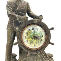 Franklin D Roosevelt The Man of the Hour Portrait Clock 1933