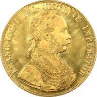 Αυστρία Χρυσό Νόμισμα 4 Δουκάτα 1915 Franz Joseph I