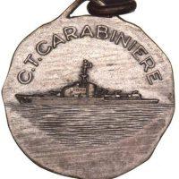 Italian Silver Medal C T Carabiniere WWII Destroyer