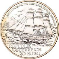 Austria Αυστρία 20 Ευρώ 2004 Ασημένιο In Original Box
