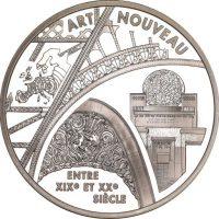 Γαλλία France Europa Silver Coin 2000 Art Nouveau