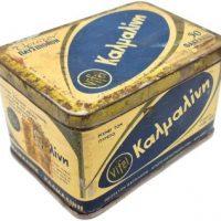 Παλιά Μεταλλική Συσκευασία Παυσίπονο Καλμαλίνη