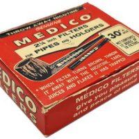 Παλιά Χάρτινη Συσκευασία Medico Φίλτρα Πίπας Γεμάτη