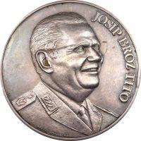 Ασημένιο Μετάλλιο Τίτο Της Φιλοτεχνικής Με Κουτί Και Πιστοποιητικό
