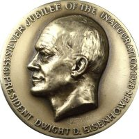 Commemorative Medal 1978 Eisenhower Silver Jubilees Dinner