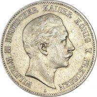 Γερμανία Germany 5 Mark 1904 Silver Wilhelm