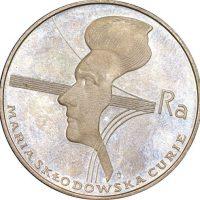 Πολωνία Poland 100 Zlotych 1974 Silver Maria Curie