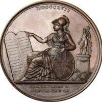 Μετάλλιο Για Την Παραχώρηση Συντάγματος Στα Ιόνια Νησιά 1820