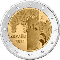 Ισπανία Spain 2 Ευρώ 2021 City Of Toledo