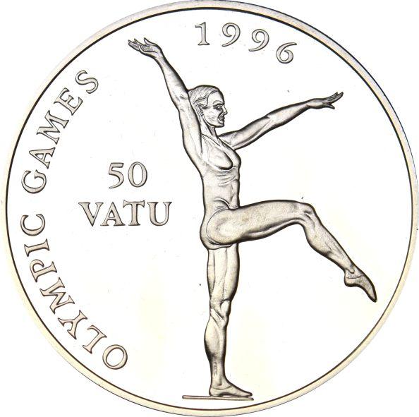 Βανουάτου Vanuatu 50 Vatu 1994 Olympics Games 1996