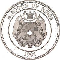 Τόγκα Kingdom Of Tonga 1 Pa Anga 1991 Olympic Games 1992