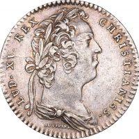 Γαλλία France Silver Token 1731 Louis XV